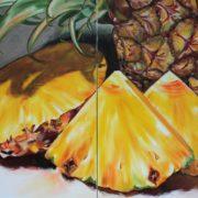 'Food 7' - 120x200, Öl auf Leinwand