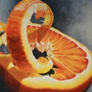 \'Food 4\' - 100x100 cm, Öl auf Leinwand