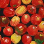 \'Food 5\' - 50x60 cm, Öl auf Leinwand