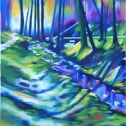 'Landscape10' - 50x70 cm - Öl auf Leinwand