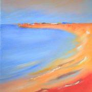 'Shore: 2019' - 80x60 cm - Acryl auf Leinwand