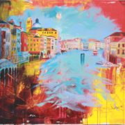 'Venedig 2' - 100x80, Acryl auf Leinwand